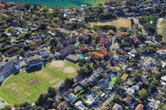 Scots College has junior and senior campuses on either side of Victoria Road.