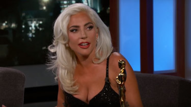 Lady Gaga addresses those Bradley Cooper rumours.
