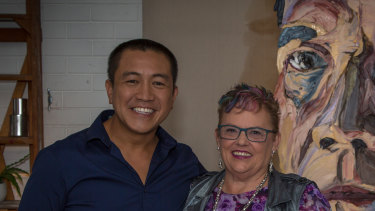 Lindy Chamberlain-Creighton in Anh Do's Brush with Fame