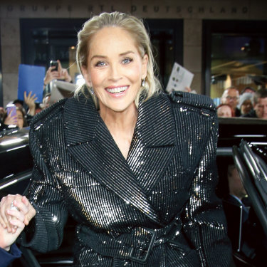 "In her new memoir, Sharon Stone (pictured here in Berlin in 2019) reveals extraordinary details of her traumatic childhood: ""We all, in our family, had kept secrets of shame and terror."""