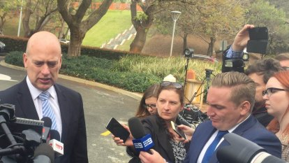 Dean Nalder sounds off at Liberal Party powerbrokers