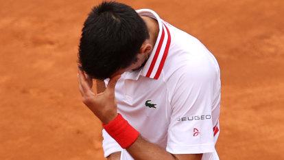 Djokovic's tantrum in Rome rain, Nadal's Tokyo doubts