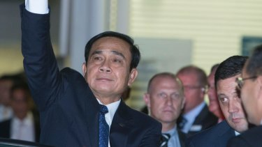 Thailand's Prime Minister General Prayut Chan-o-cha in Australia last year.