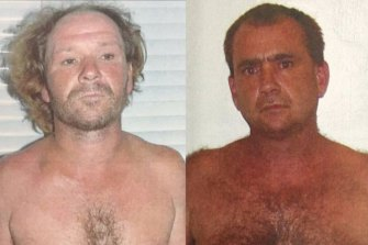 Adrian Attwater, left, and Paul Maris are appealing their convictions over Lynette Daley's death.
