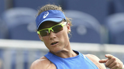 Stosur loss ends Aussies' Eastbourne hopes