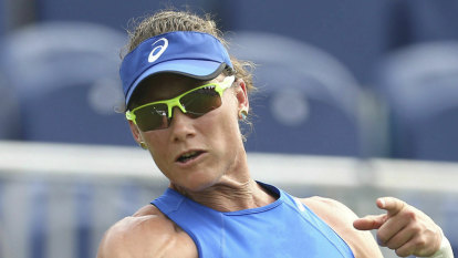 Stosur falls short in mixed doubles bid