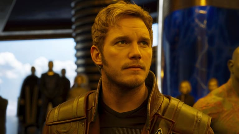 Chris Pratt has stood by his director and friend James Gunn.