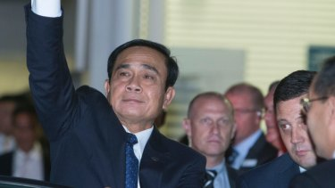 Thailand Thailand's Prime Minister General Prayut Chan-o-cha in Australia last year.