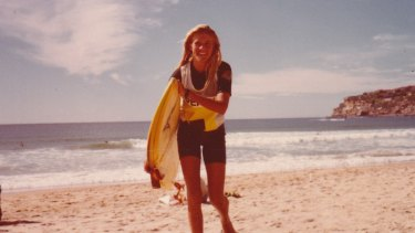 """It's amazing"": Pam Burridge in Girls Can't Surf."