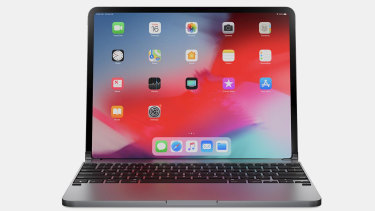 Paired with a Brydge keyboard, the 11 inch iPad Pro looks like a tiny Mac.