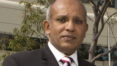 Head of the RPH trauma unit Dr Sudhakar Rao.
