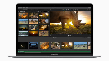 The base model MacBook Air 2020 comes with a welcome 256GB storage.