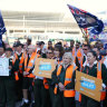 'Guerilla warfare tactics' used in Perth bus driver strike