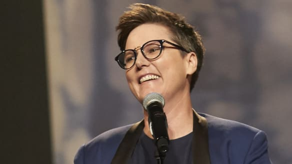 Hannah Gadsby dating Emmy winner