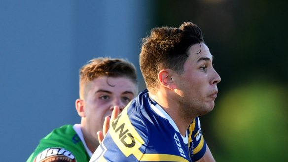 Teenager Dylan Brown impresses for Eels in  trial loss to Canberra