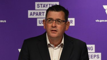 Has Daniel Andrews gone too far with China?