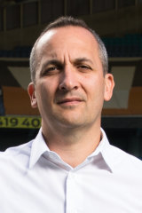 Interim NRL CEO Andrew Abdo.