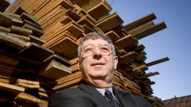Gunns Limited executive chairman John Gay.
