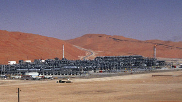 Aramco's Shaybah oil field in Saudi Arabia was attacked by a drone in August.