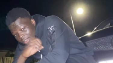 Bless Mulukwat Akoch was attacked just before 6pm inside Eagle Stadium in Werribee.