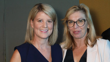 Natasha Stott Despoja and Rosie Batty at the launch of On Violence.