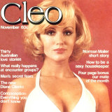Cleo magazine with tips for young women.