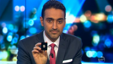 Waleed Aly suggests a new pin to represent our political leaders.