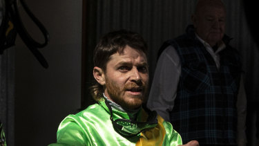 Jockey Jake Pracey-Holmes has the mount on Lockdown Gamble at Forbes.