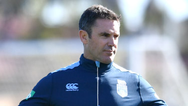 Trust: Brad Fittler has gone with his gut with team selections for Perth.