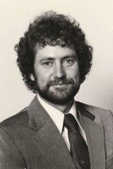 Jim Slade as a young policeman.