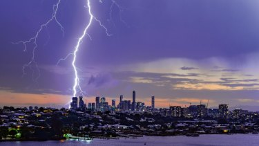 Another awe-inspiring Brisbane storm produced the goods for one local photographer.