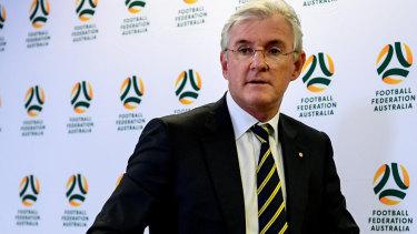 So long: Former Football Federation Australia chair Steven Lowy.