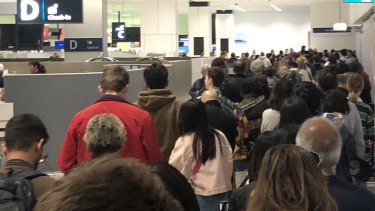 Delays hit Sydney Airport after security outage hits Australian Border Force security gates.