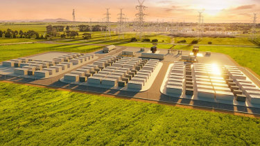 Victoria's Big Battery will be double the size of the famous Tesla battery in South Australia.