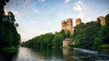 Durham Cathedral, one of the filming locations for the Harry Potter movies.