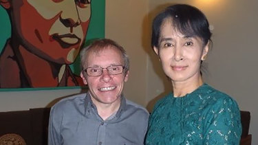 Sean Turnell has long provided advice to Myanmar's elected leader Aung San Suu Kyi.
