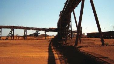 FMG's Cloudbreak mine in WA's Pilbara region.