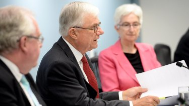 Justice Peter McClellan, chair of the Royal Commission into Institutional Responses to Child Sexual Abuse.