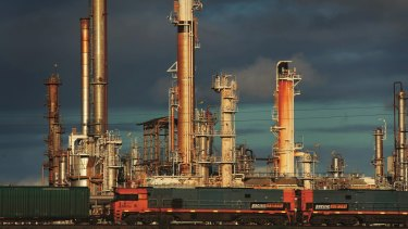 Viva's Geelong oil refinery is already running at reduced rates.