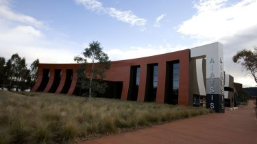 The AIATSIS building in Acton.