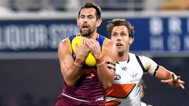 Influential: Luke Hodge led by example and inspire teammates during his time at the Brisbane Lions.