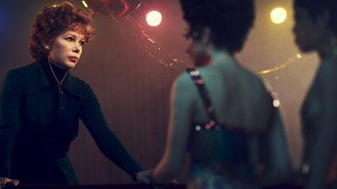 Michelle Williams as dancer Gwen Verdon in a scene from Fosse/Verdon.