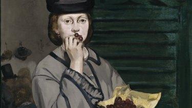 Edouard Manet's Street Singer (c. 1862).