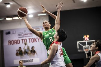 Australia's Liz Cambage is part of a strong Opals squad for their Olympic qualifying tournament.