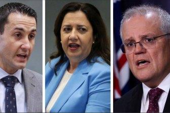 Opposition Leader David Crisafulli and Premier Annastacia Palaszczuk have written a letter to Scott Morrison.