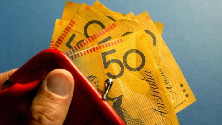 The Aussie dollar fell almost 13 per cent against the US currency.