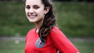 Florida high school shooting victim Alyssa Alhadeff.