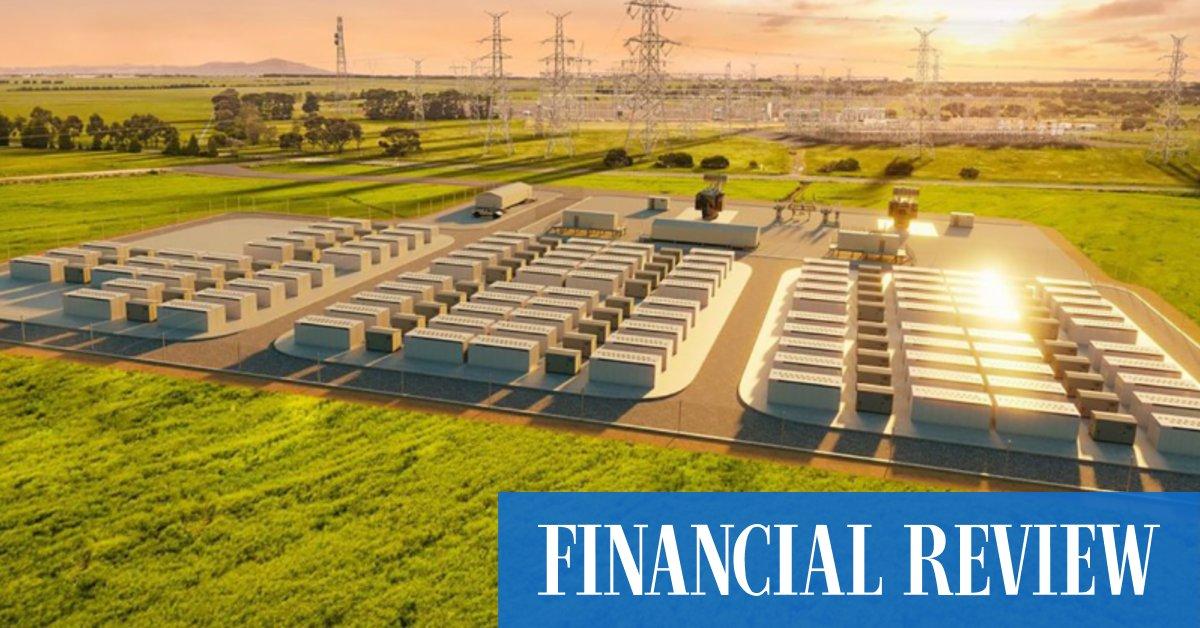 CEFC backs Victorian Big Battery with $160m debt