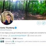 Greta Thunberg changed her Twitter bio to match Donald Trump's description of her.