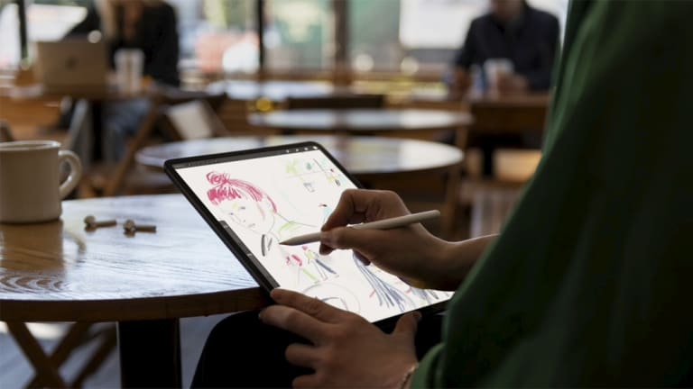Like the iPhone, the iPad Pro is now essentially all screen.